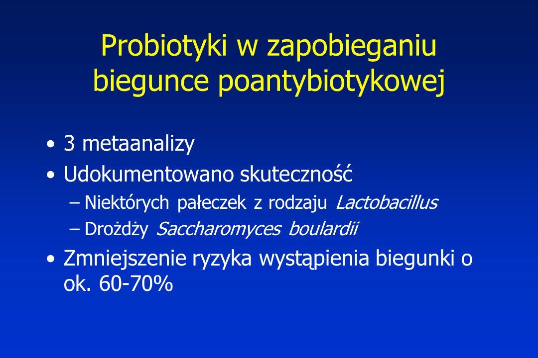 Probiotyki w zapobieganiu biegunce poantybiotykowej