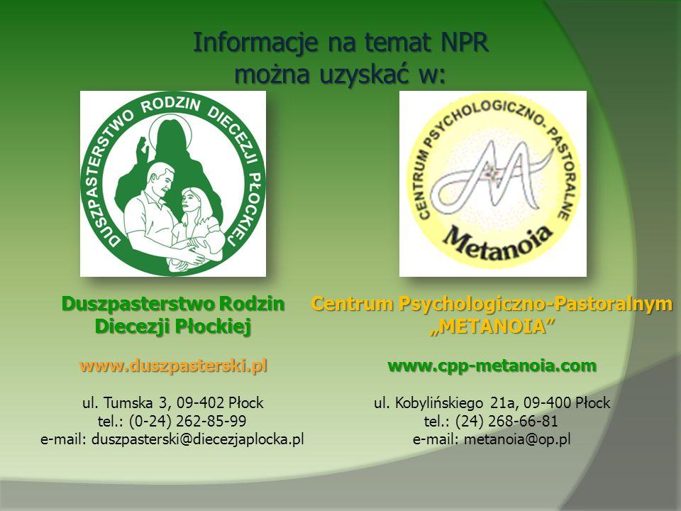 Duszpasterstwo Rodzin Centrum Psychologiczno-Pastoralnym
