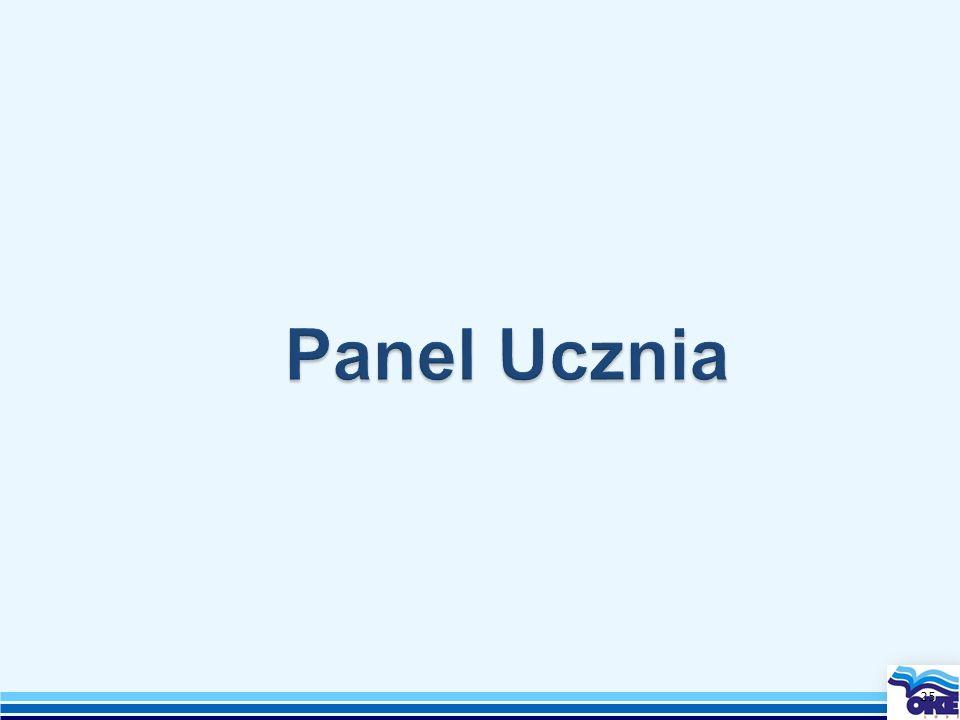 Panel Ucznia 25