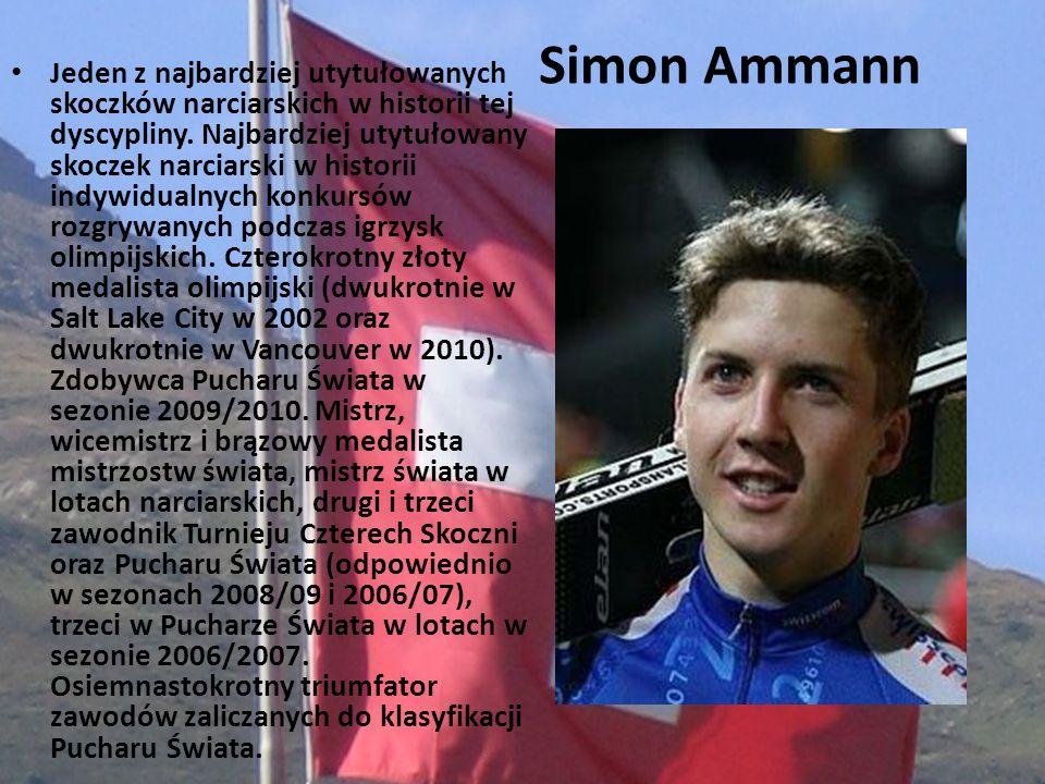 Jeden z najbardziej utytułowanych skoczków narciarskich w historii tej dyscypliny. Najbardziej utytułowany skoczek narciarski w historii indywidualnych konkursów rozgrywanych podczas igrzysk olimpijskich. Czterokrotny złoty medalista olimpijski (dwukrotnie w Salt Lake City w 2002 oraz dwukrotnie w Vancouver w 2010). Zdobywca Pucharu Świata w sezonie 2009/2010. Mistrz, wicemistrz i brązowy medalista mistrzostw świata, mistrz świata w lotach narciarskich, drugi i trzeci zawodnik Turnieju Czterech Skoczni oraz Pucharu Świata (odpowiednio w sezonach 2008/09 i 2006/07), trzeci w Pucharze Świata w lotach w sezonie 2006/2007. Osiemnastokrotny triumfator zawodów zaliczanych do klasyfikacji Pucharu Świata.