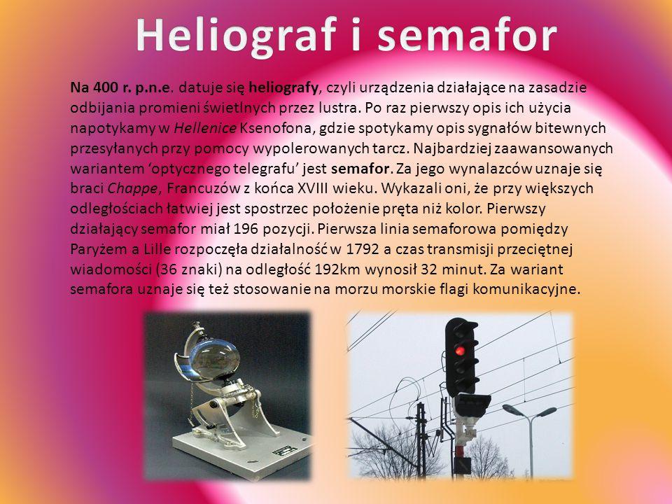 Heliograf i semafor