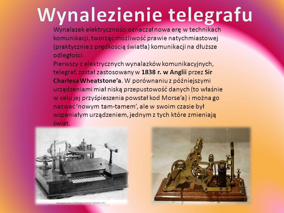 Wynalezienie telegrafu