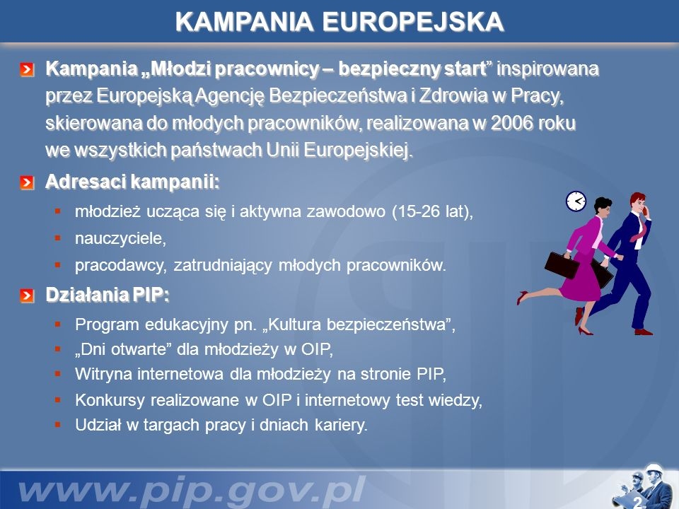 KAMPANIA EUROPEJSKA