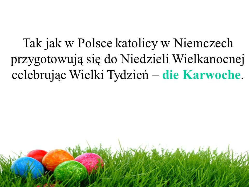 Tak jak w Polsce katolicy w Niemczech