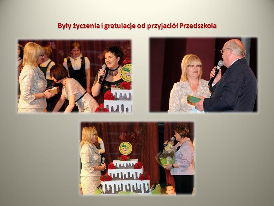 Były życzenia i gratulacje od przyjaciół Przedszkola