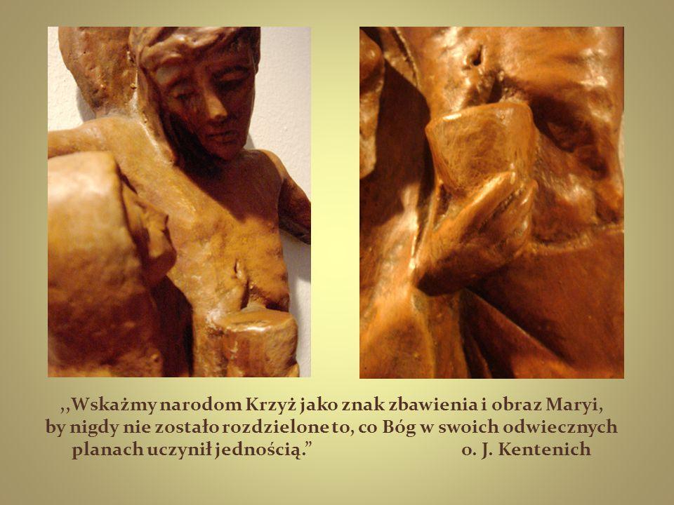,,Wskażmy narodom Krzyż jako znak zbawienia i obraz Maryi, by nigdy nie zostało rozdzielone to, co Bóg w swoich odwiecznych planach uczynił jednością. o.