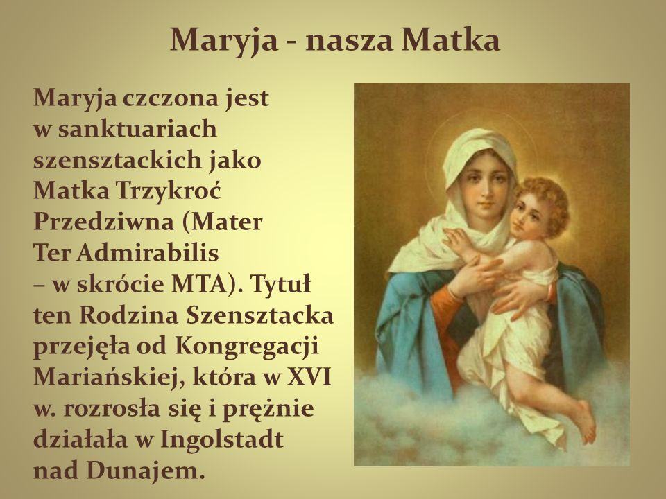 Maryja - nasza Matka