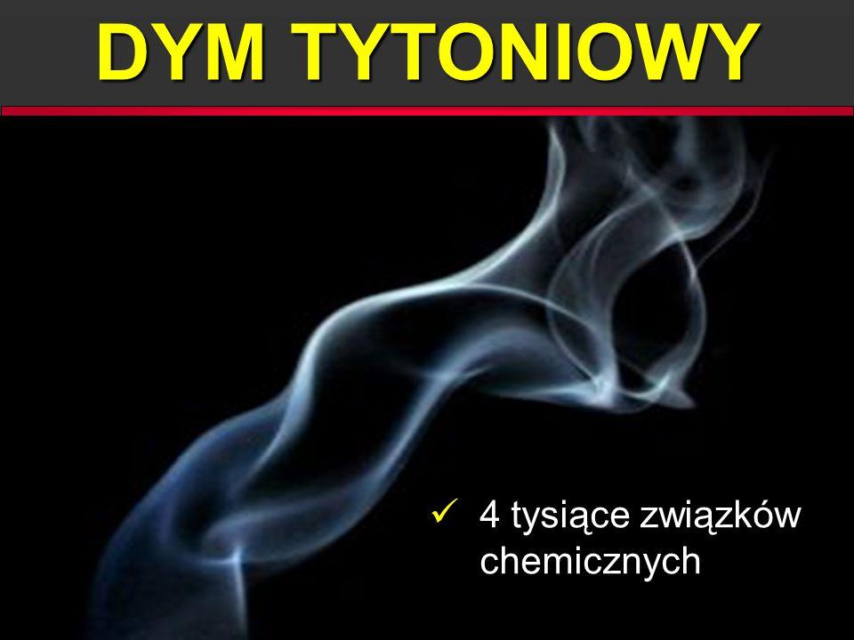 DYM TYTONIOWY 4 tysiące związków chemicznych