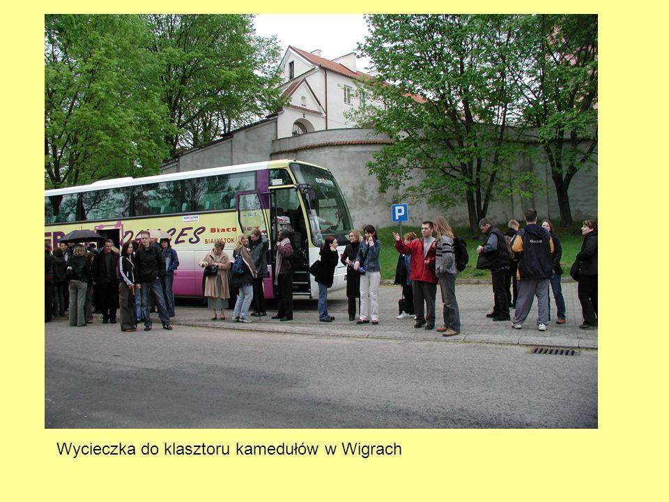 Wycieczka do klasztoru kamedułów w Wigrach