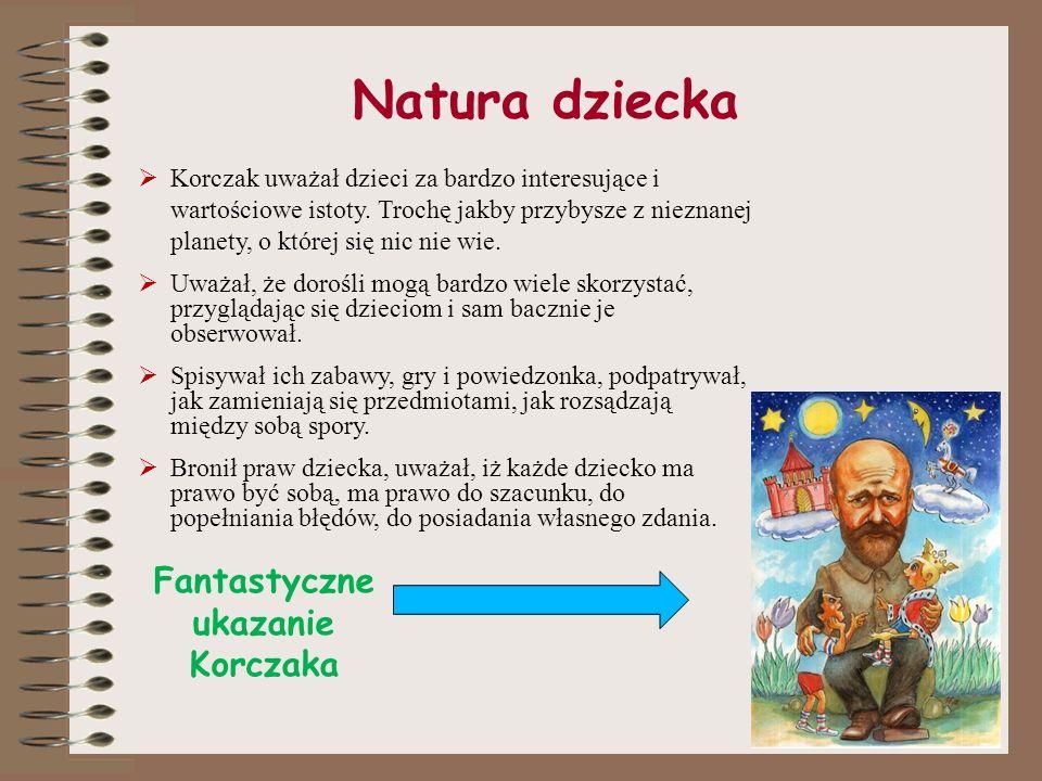 Fantastyczne ukazanie Korczaka