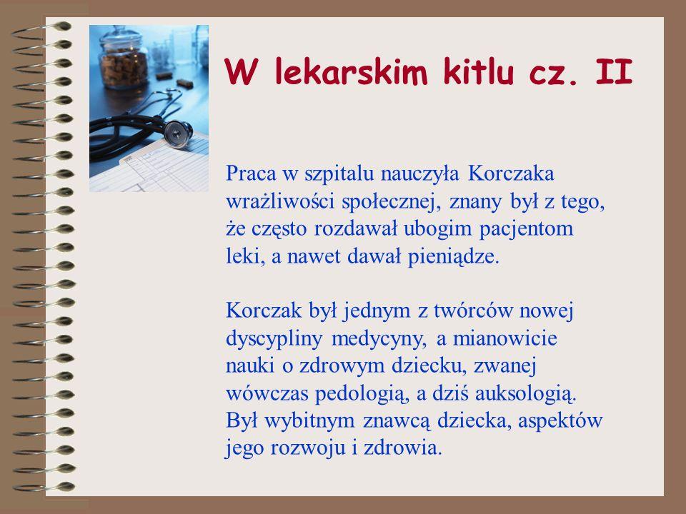 W lekarskim kitlu cz. II