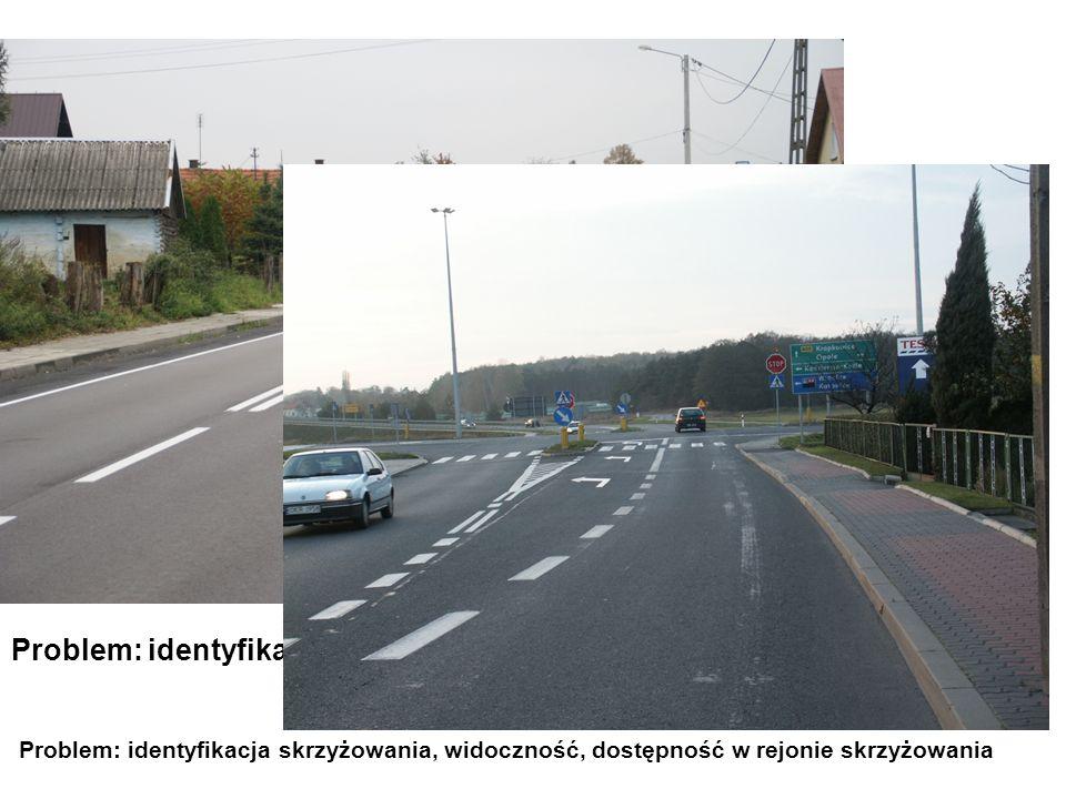 Problem: identyfikacja skrzyżowania