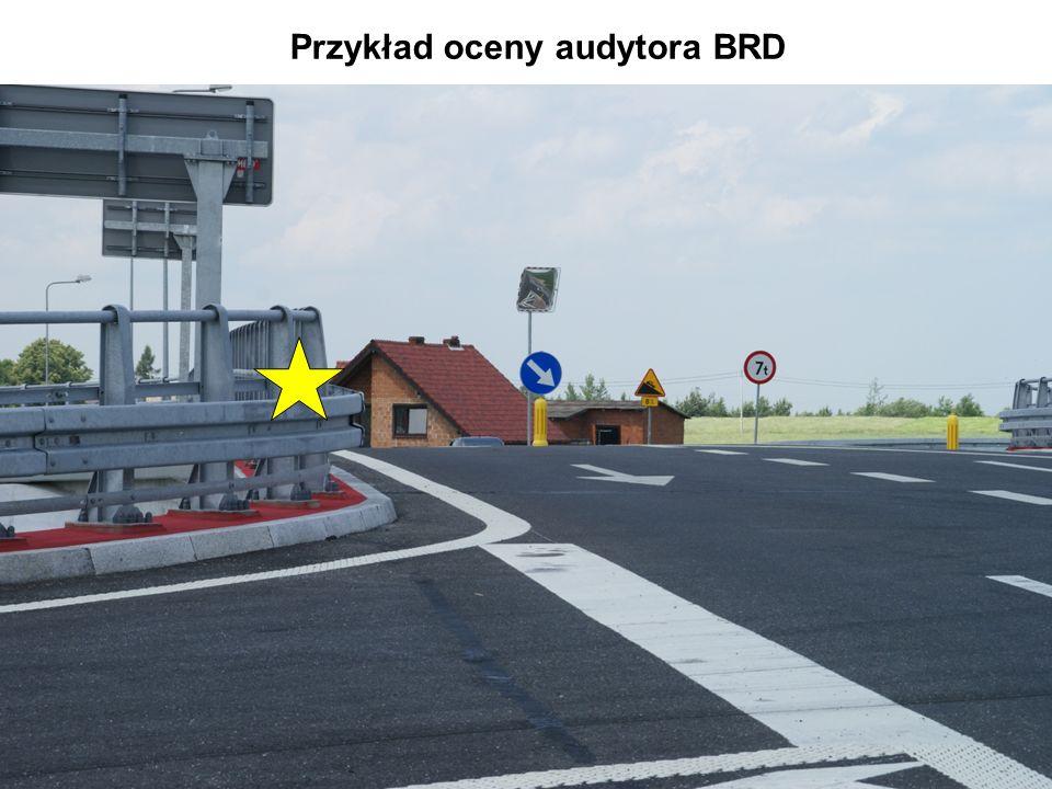 Przykład oceny audytora BRD