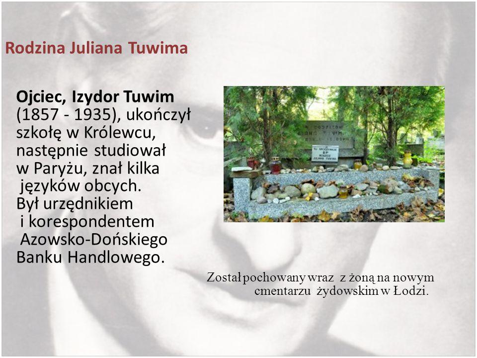 Rodzina Juliana Tuwima