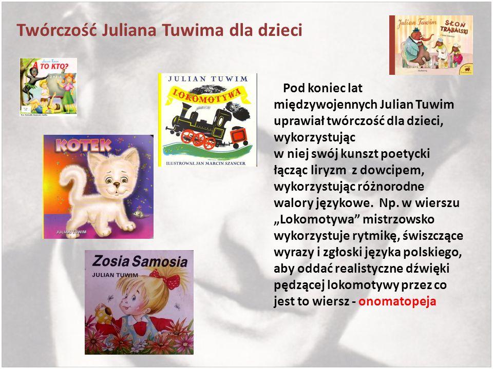 Twórczość Juliana Tuwima dla dzieci