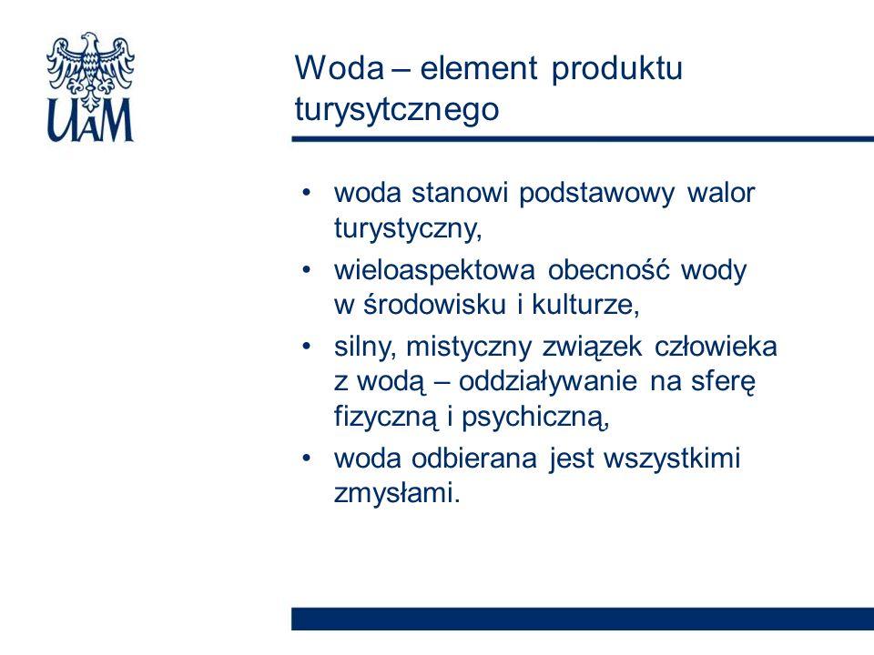 Woda – element produktu turysytcznego