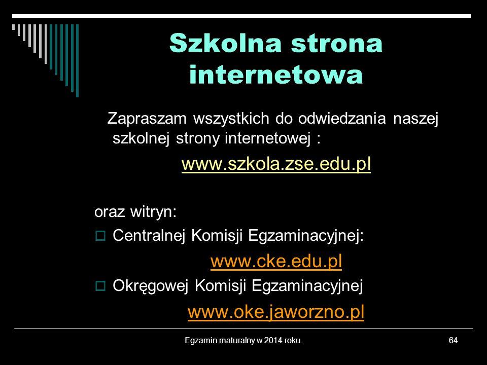 Szkolna strona internetowa
