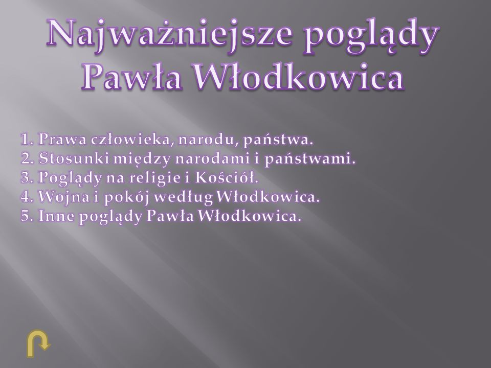 Najważniejsze poglądy Pawła Włodkowica