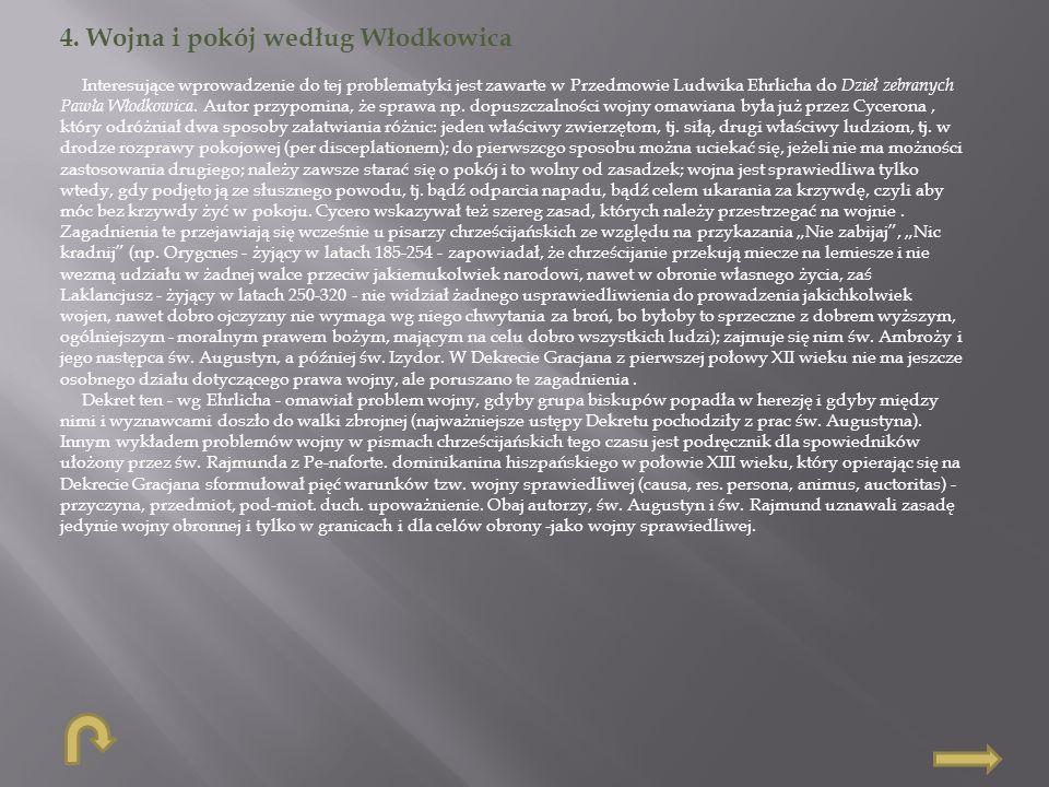 4. Wojna i pokój według Włodkowica