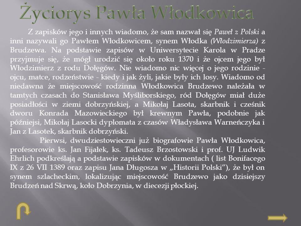 Życiorys Pawła Włodkowica