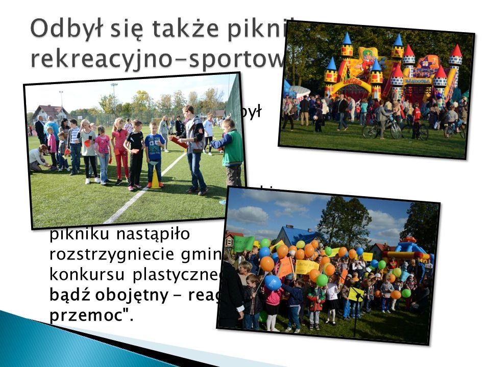 Odbył się także piknik rekreacyjno-sportowy