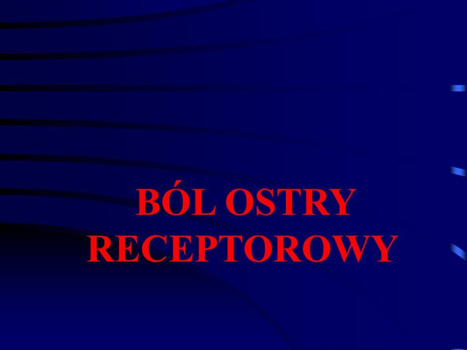 BÓL OSTRY RECEPTOROWY