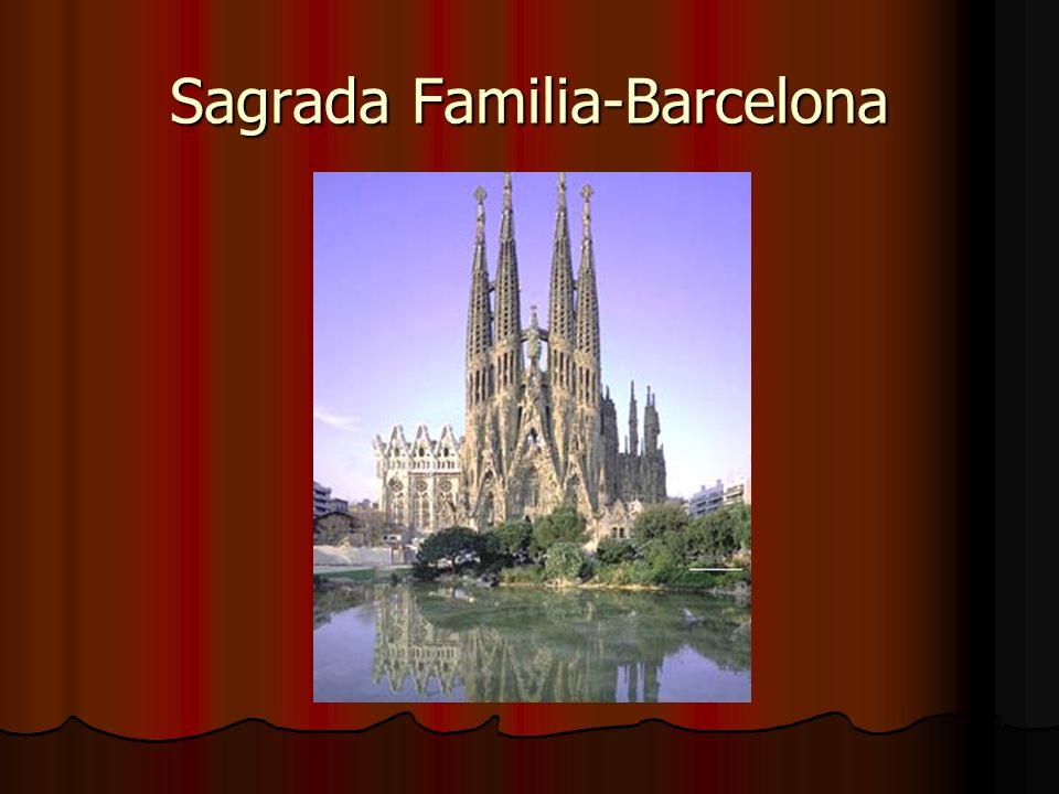 Sagrada Familia-Barcelona