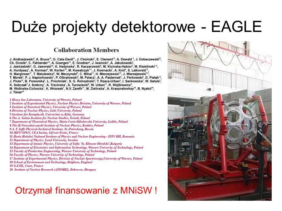 Duże projekty detektorowe - EAGLE