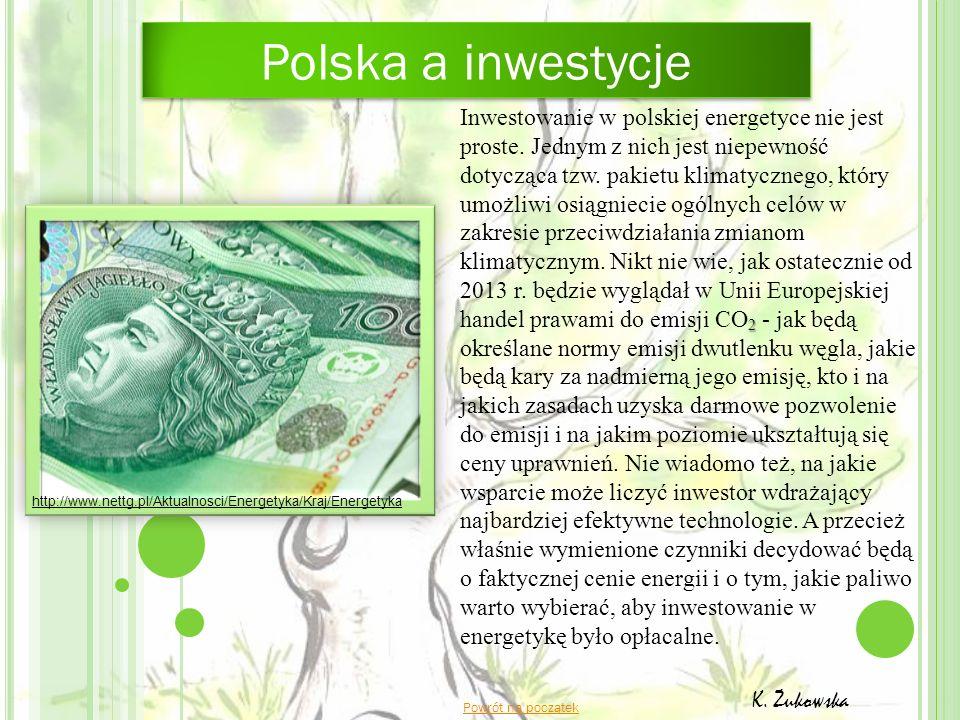 Polska a inwestycje