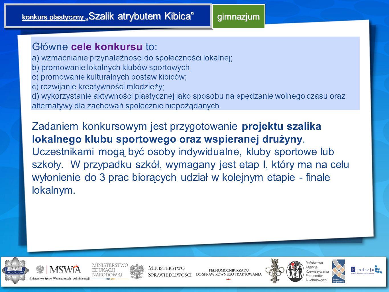 """konkurs plastyczny """"Szalik atrybutem Kibica"""