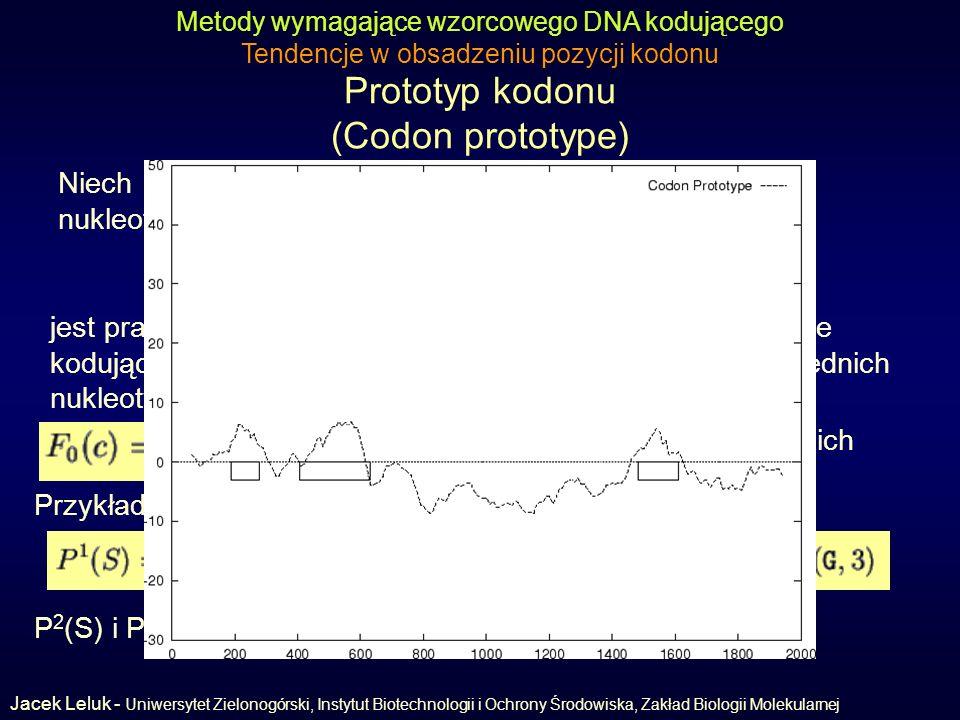 Prototyp kodonu (Codon prototype)