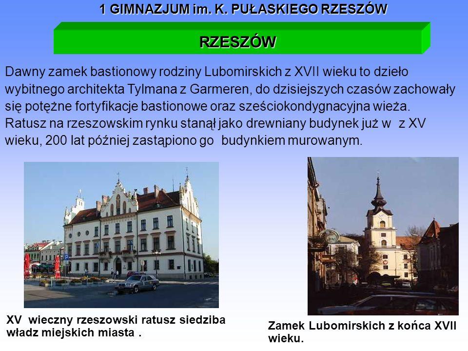 XV wieczny rzeszowski ratusz siedziba władz miejskich miasta .