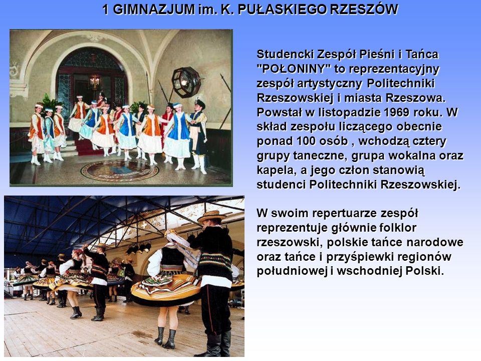 Studencki Zespół Pieśni i Tańca POŁONINY to reprezentacyjny zespół artystyczny Politechniki Rzeszowskiej i miasta Rzeszowa.