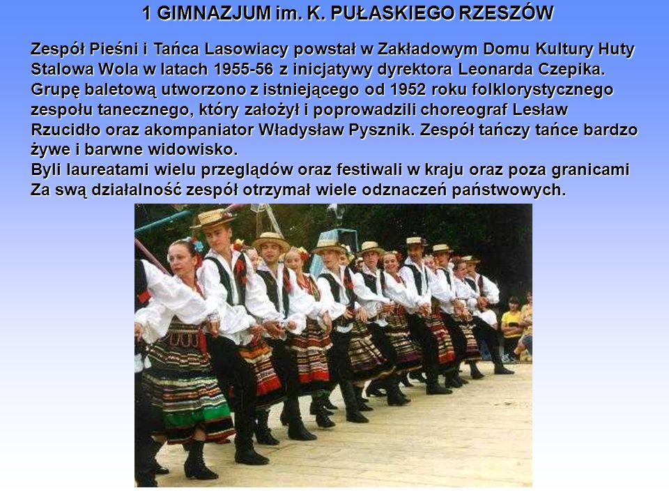 Zespół Pieśni i Tańca Lasowiacy powstał w Zakładowym Domu Kultury Huty
