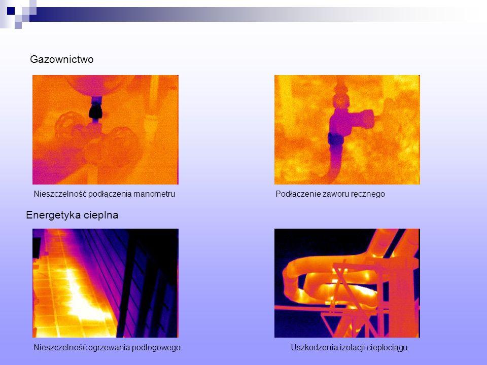 Gazownictwo Energetyka cieplna Nieszczelność podłączenia manometru
