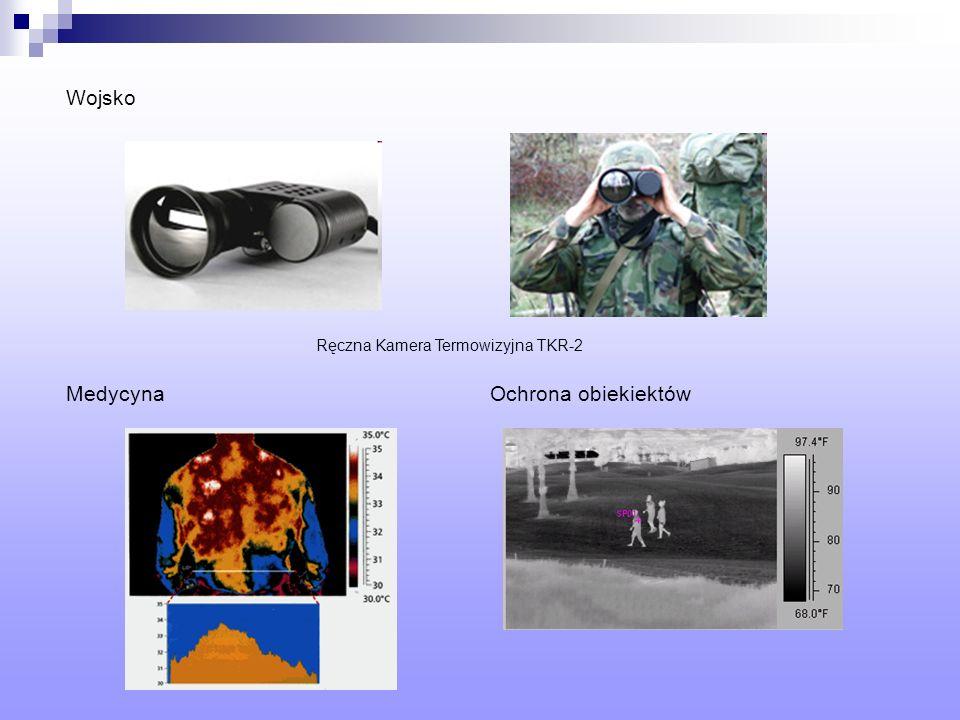 Wojsko Ręczna Kamera Termowizyjna TKR-2 Medycyna Ochrona obiekiektów