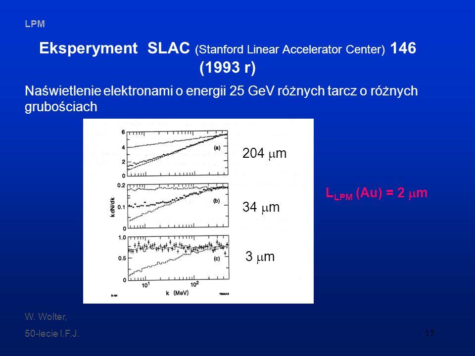 Eksperyment SLAC (Stanford Linear Accelerator Center) 146 (1993 r)
