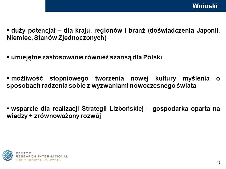 umiejętne zastosowanie również szansą dla Polski