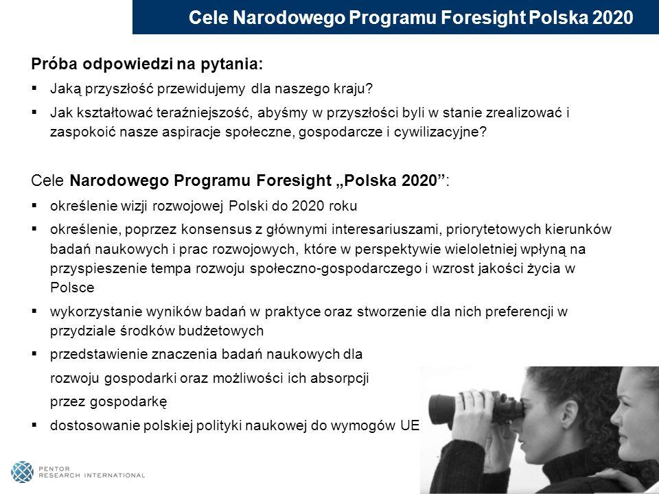 Cele Narodowego Programu Foresight Polska 2020