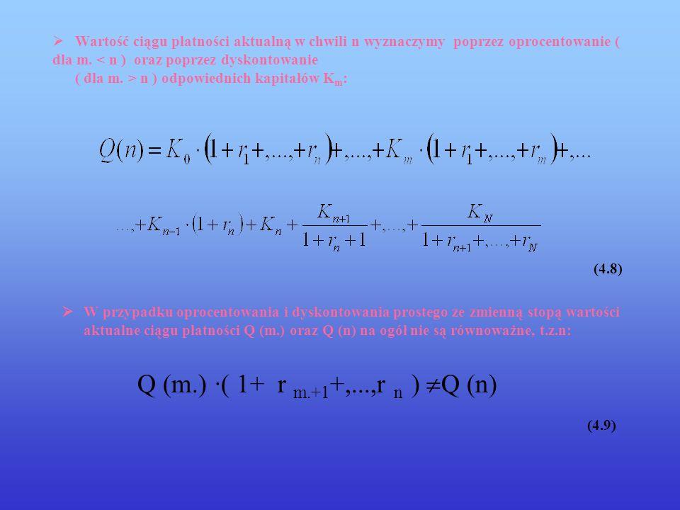 Q (m.) ·( 1+ r m.+1+,...,r n ) Q (n) (4.9)