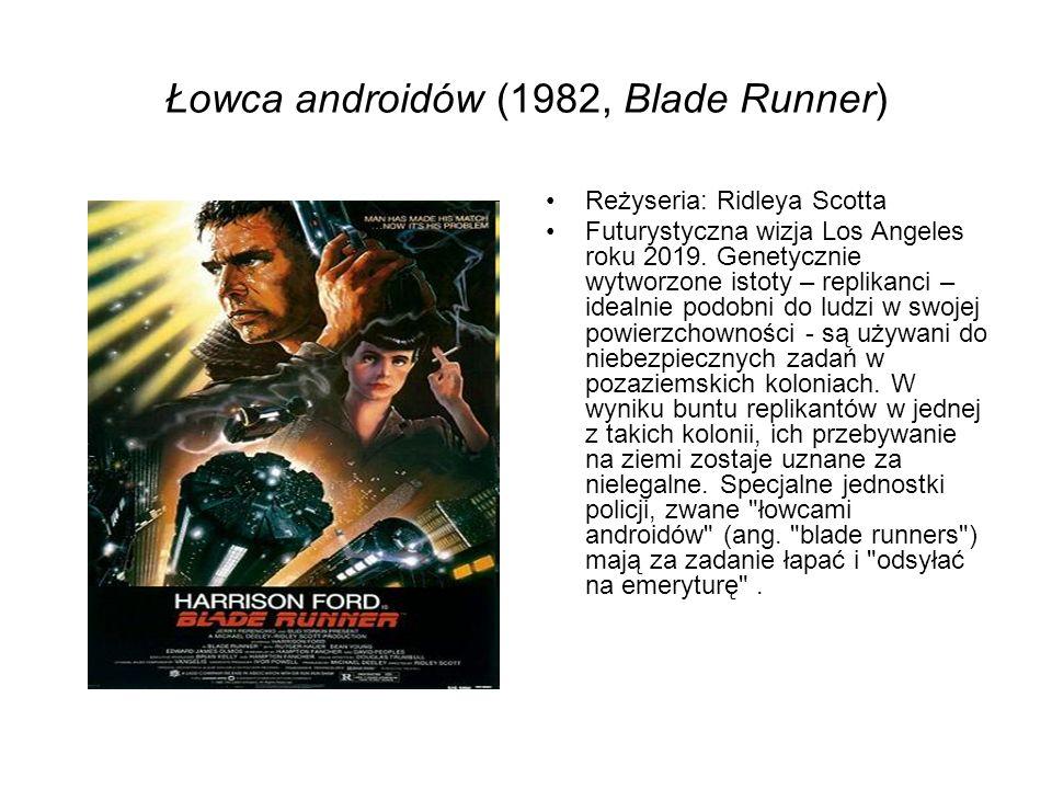 Łowca androidów (1982, Blade Runner)
