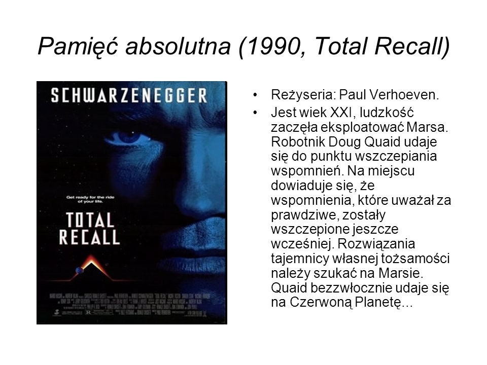 Pamięć absolutna (1990, Total Recall)