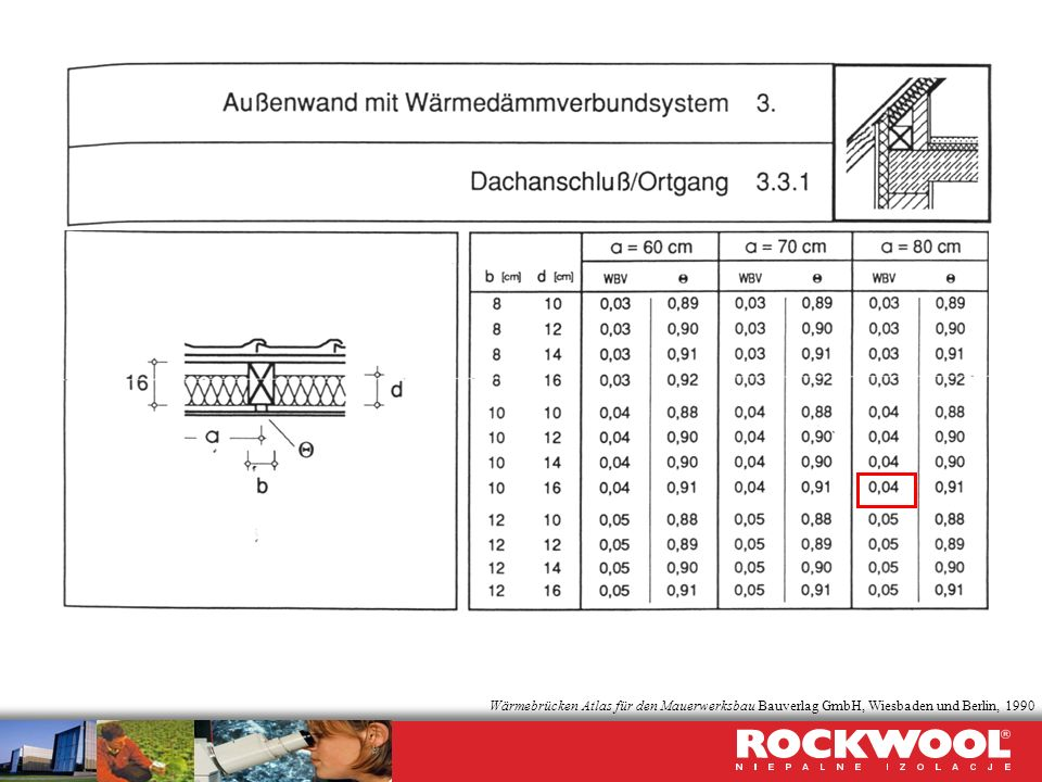 Wärmebrücken Atlas für den Mauerwerksbau Bauverlag GmbH, Wiesbaden und Berlin, 1990