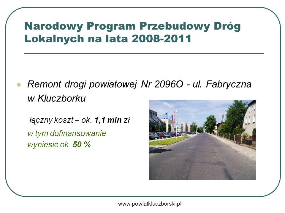 Narodowy Program Przebudowy Dróg Lokalnych na lata 2008-2011