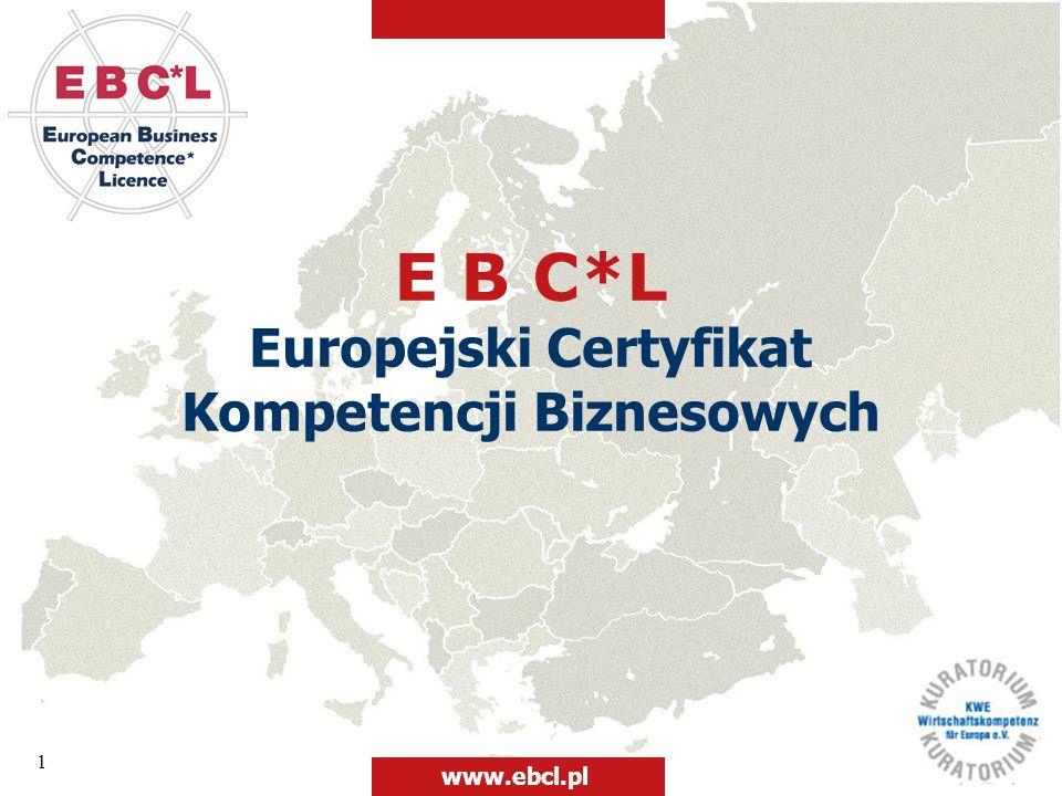 Europejski Certyfikat Kompetencji Biznesowych