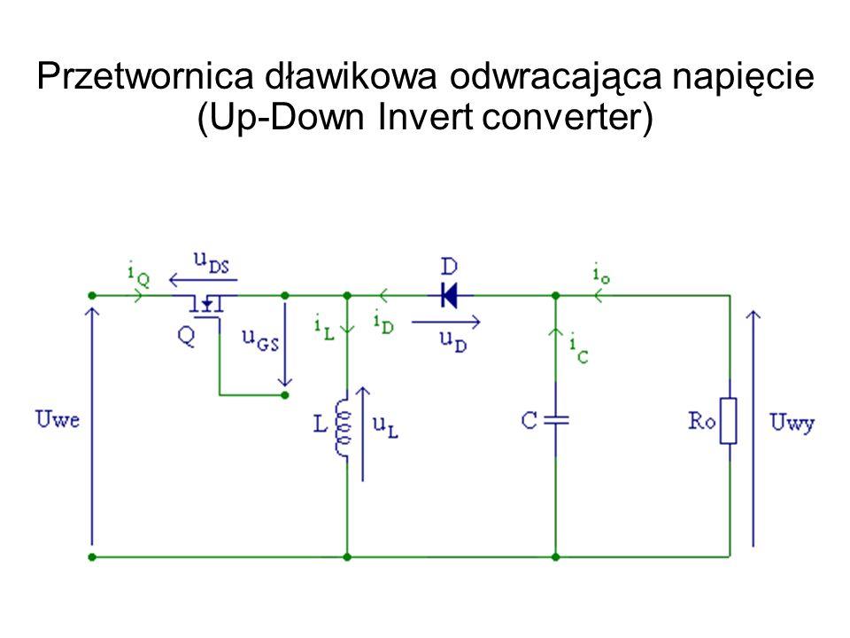 Przetwornica dławikowa odwracająca napięcie (Up-Down Invert converter)
