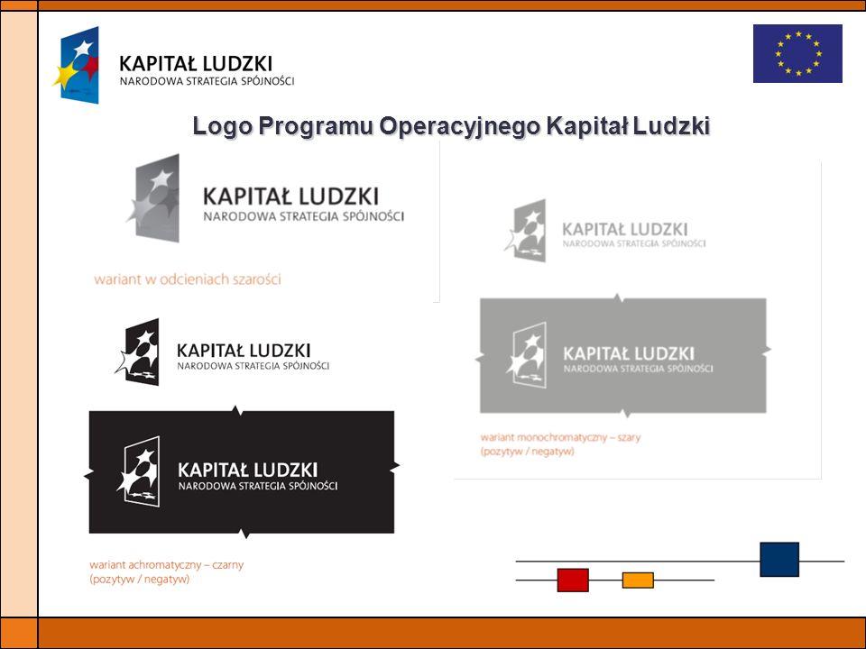 Logo Programu Operacyjnego Kapitał Ludzki