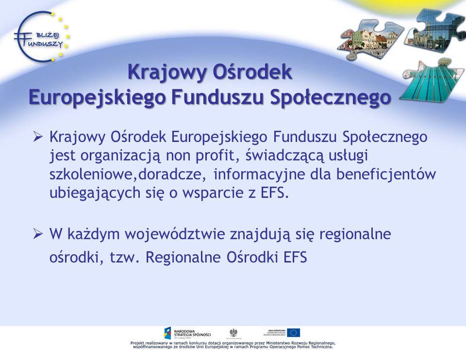 Krajowy Ośrodek Europejskiego Funduszu Społecznego