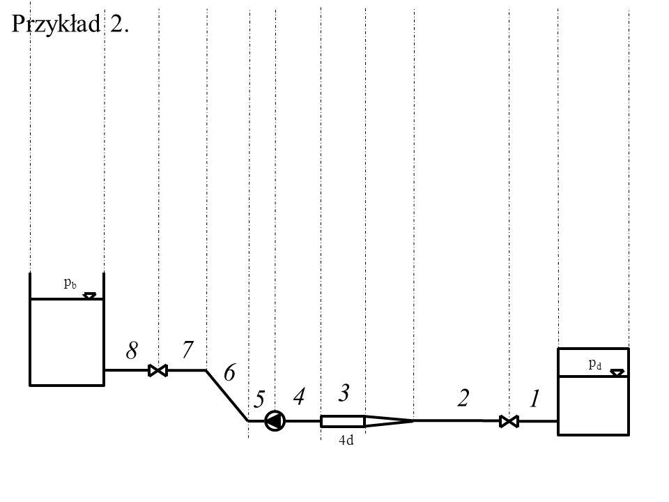 Przykład 2. pb pd 8 7 6 4 3 5 2 1 4d