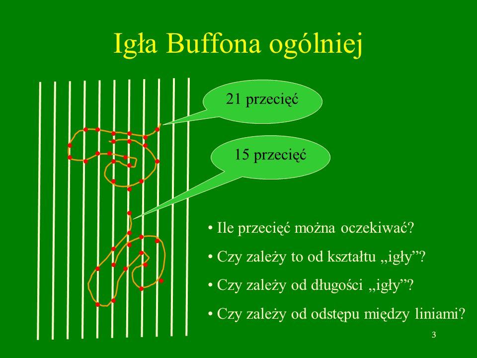 Igła Buffona ogólniej 21 przecięć 15 przecięć